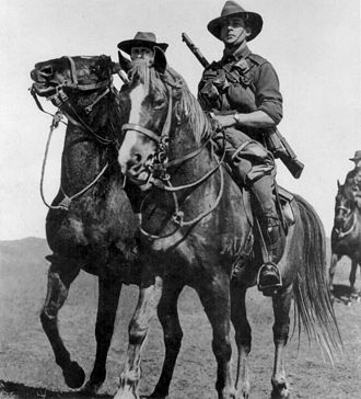 Australian Light Horsemen Picture
